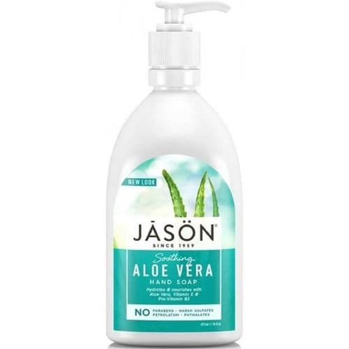 Jasons Natural Organic Aloe Vera Soap with pump